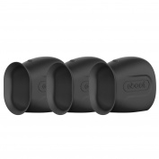 eBoot Silicone Skins for Arlo Smart Security Wire-Free Cameras, 3 Pack, Black
