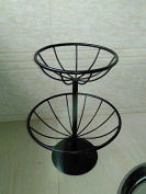 Fruit plate, fruit basket, iron fruit plate, living room decorated with, Racks