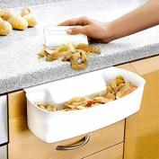 Homemate® Kitchen Drawer Scraps Bin - FREE Scraper! Ideal for collecting scraps when cutting up veg, fruit etc!