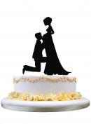 Unique Wedding Cake Topper ,Pregnant Bride and Groom Wedding Cake Topper