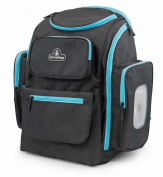 Primo Passi Backpack Nappy Bag With Insulated Pockets, Blue