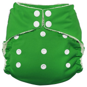 Imagine Baby Products Bamboo AIO 2.0 Nappy, Emerald, Snap