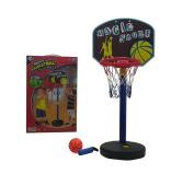Lvnv Toys@ Magic Shoot Pro Sport Premium Toy Basketball Playset w/ Basketball Court, Basketball, Ball Inflator Pump