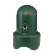 Skywalker Large Trampoline Enclosure Pole Cap, 2-Pieces - Green