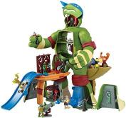 Teenage Mutant Ninja Turtles Micro Mutants Scale Leonardo Figure Playset, 24cm