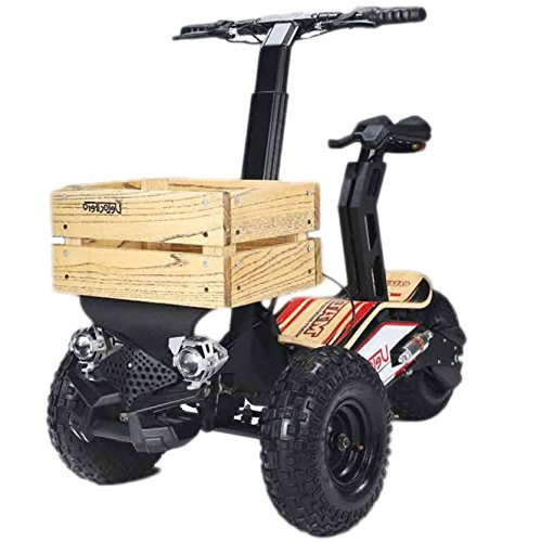 Heavy duty powerful original electric scooter 1600W 48v Oversized Tyres,  three wheels, off road scooter, 28 mph