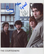 The Courteeners FULLY SIGNED Photo 1st Generation PRINT Ltd 150 + Certificate