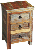 Artefacts 3-Drawer Distressed Accent Chest