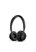 u-JAYS Wireless Premium Headphones, Designed in Sweden by JAYS, Black on black