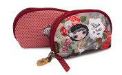 Verity Rose Make-up bag with sentiment 'Kiss & Make up'