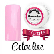 Colour Line-masking effect and glass-uv gel Coloured 5 ml Space false Nails Beauty nail Reconstruction and nail art rosa confetto