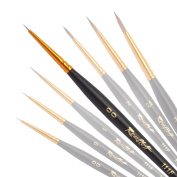 Professional Kolinsky Sable Nail Art Brushes - Universal Size - Your Choice Brush - Roubloff - Series 111 °F
