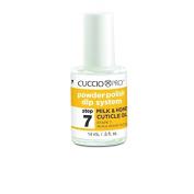 Cuccio Powder Polish Dip System - Step 7 Milk And Honey Cuticle Oil 14ml