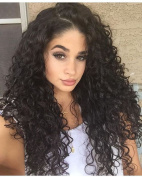 360 Lace Wigs Brazilian Virgin Hair Kinky Curly Full Lace Human Hair Wigs For Black Women With Baby Hair