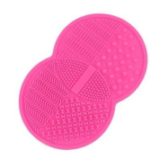 HENGSONG Women Silicone Makeup Brush Cleaner Washing Scrubber Board Cleaning Mat Pad Tool Pad