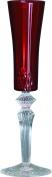 Baci BM 677542 So Chic Champagne Flute, Acrylic, Red, 8 x 8 x 26.5 cm