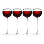 Set of 4 Long Stem Wine Glass's