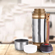 MDRW-Individual water cups Travel pot, high-quality double stainless steel vacuum travel pot, large travel mug,1500ML