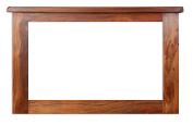 Vellar Living Indian Rosewood Mirror / Solid Sheesham Rosewood Mirror / Chunky Living Room Furniture