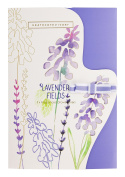 Heathcote & Ivory Lavender Fields Fragranced Drawer Liners, .