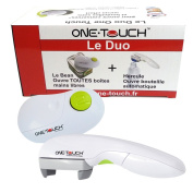 The Duo One Touch Automatic Can Opener and Bottle Opener