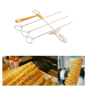 Lalang Potato Spiral Slicer Potato Twister Spiral Potato Tower Slicer Cutter Spiral Cutting Tool