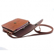Aritone Women Imitation Leather Shoulder Bag Satchel Handbag Retro Messenger Cross Body Bag