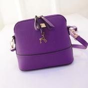 Aritone Women Messenger Bags Vintage Small Shell Leather Handbag Casua Shoulderl Bag