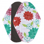 Sunbona Antibacterial Bamboo fibre Cloth Menstrual Pads Reusable Panty Liners Mama Sanitary Towel Pad
