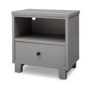 Simmons Kids Rowen Nightstand, Grey