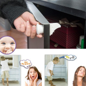 Child Safety Magnetic Lock,Tuscom@ 4pcs Invisible Baby Safety Magnetic Cabinet Lock Child Proof Cupboards Drawers