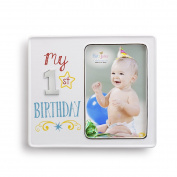 Demdaco Baby Frame, My 1st Birthday