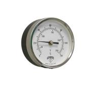 7.6cm - 1.3cm TBT Bi-Metal Back Mount Thermometer