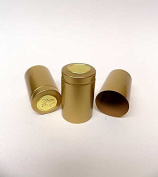 Gold Heat Shrink Capsules-Wide