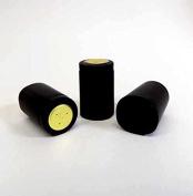 Black Heat Shrink Capsules-Wide