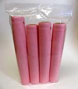 Pink Heat Shrink Capsules