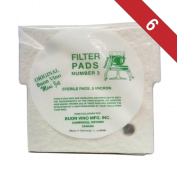 Buon Vino Mini-Jet Filter Pads #3-Pack of 6