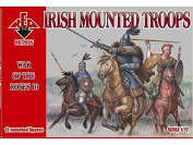 Red Box RB72055 - Irish Mounted Troops War of the Roses 10 Model Building Set - Grey