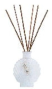 AQUARIA WHITE TIERRA Reed Diffuser - White Thyme Ginger Fragrance by Pomeroy
