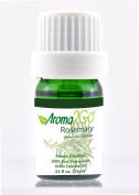 Aroma2Go | Rosemary | Premium 100% Pure Therapeutic Grade Undiluted Natural Essential Oil 15 ml | Hair Growth Memory Boosting