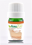 Aroma2Go | Pumpkin Pie | Premium 100% Pure Therapeutic Grade Undiluted Natural Essential Oil 15 ml | Warm and Welcoming