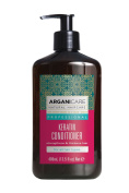 Arganicare Strengthening Keratin Conditioner with Certified Organic Argan Oil and Keratin for all hair types 400ml