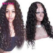 Loose Deep Wave Human Hair U Part Wigs Virgin Peruvian Hair 5.1cm x 10cm Middle UPart Human Hair Wig for Black Women