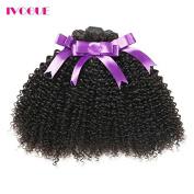 iVogue Hair Brazilian Afro Kinky Curly Human Hair Bundles Virgin Human Hair Extensions 3 pcs/lot 300g Total Full Head Weaves