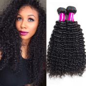 Ali Moda Hair Brazilian Virgin Hair Kinky Curly Weave 3 Bundles Unprocessed Remy Human Hair Extensions Natural Colour
