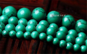 Mimeier 4-12mm Green Turquoise Round Beads Strands, DIY (004SS)