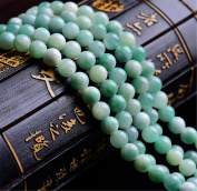 Mimeier 4-12mm Light Green Chalcedony Round Beads Strands (041YS)