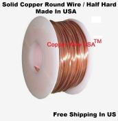 28 Ga Solid Copper Round Wire Half Hard (0.2kg -300m) Spool
