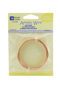 Artistic Wire 16 Gauge Rose Gold Colour Wire, 3m