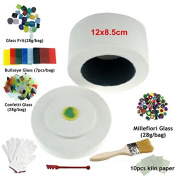 Professional Microwave Kiln Kits 9 Piece Set For Fusing Glass